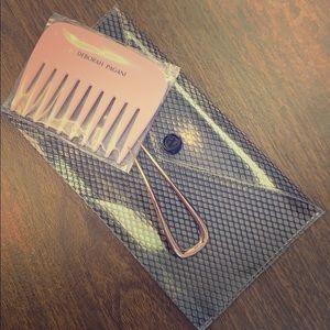 DEBORAH PAGANI SMALL HAIR PIN in Rose, Comb & Bag